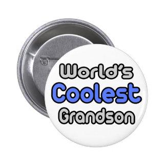 World's Coolest Grandson 2 Inch Round Button