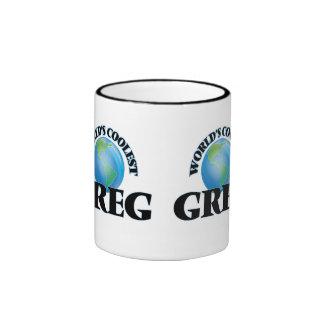 World's Coolest Greg Mugs
