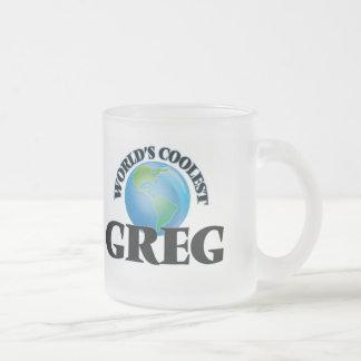 World's Coolest Greg Coffee Mug