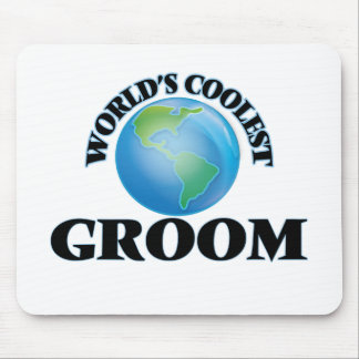 World's coolest Groom Mousepads