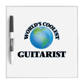World's coolest Guitarist Dry Erase Board