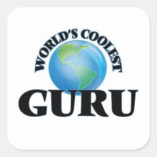 World's coolest Guru Stickers