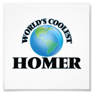 World's Coolest Homer Art Photo