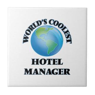 World's coolest Hotel Manager Ceramic Tile