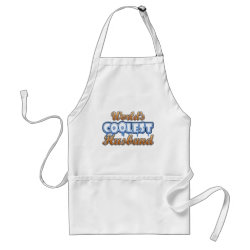 Apron with World's Coolest Husband design