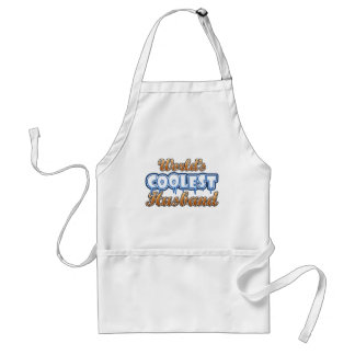 World's Coolest Husband Adult Apron