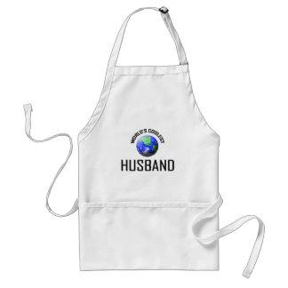 World's Coolest Husband Adult Apron