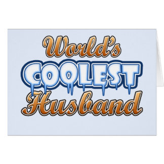 World's Coolest Husband Card