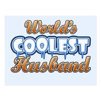 World's Coolest Husband Postcard