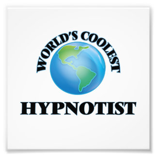 World's coolest Hypnotist Photographic Print
