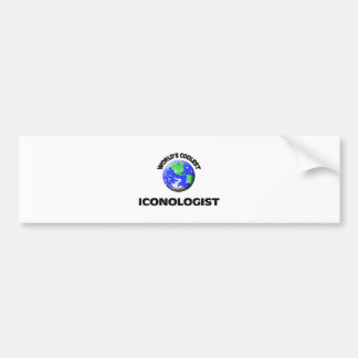 World's Coolest Iconologist Bumper Stickers