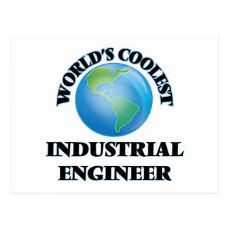 World's coolest Industrial Engineer Postcard