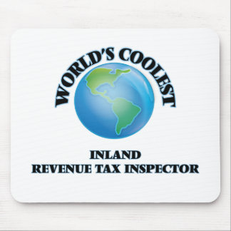 World's coolest Inland Revenue Tax Inspector Mousepad