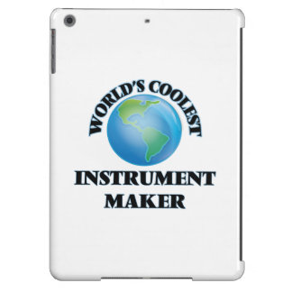 World's coolest Instrument Maker iPad Air Cover