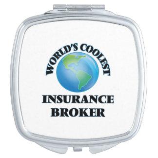 World's coolest Insurance Broker Compact Mirrors