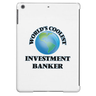 World's coolest Investment Banker Cover For iPad Air