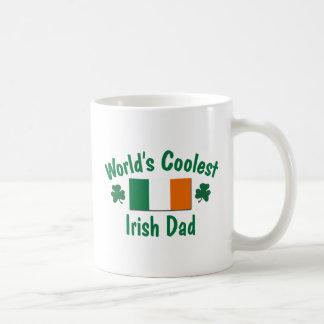 World's Coolest Irish Dad Classic White Coffee Mug