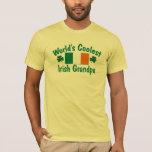 World's Coolest Irish Grandpa T-Shirt