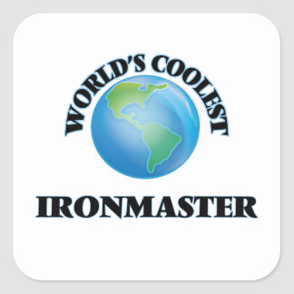 World's coolest Ironmaster Stickers