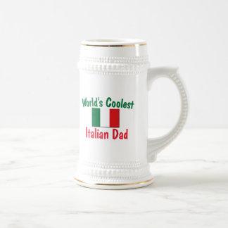World's Coolest Italian Dad Beer Stein
