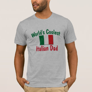 World's Coolest Italian Dad T-Shirt