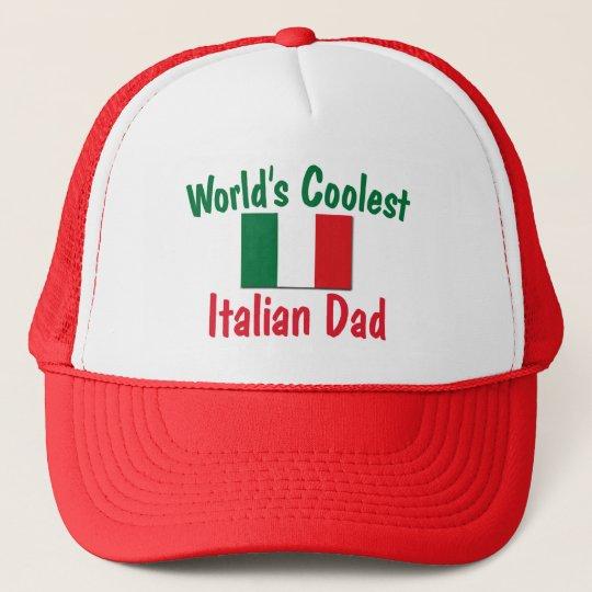 World's Coolest Italian Dad Trucker Hat
