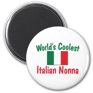 World's Coolest Italian Nonna Magnet
