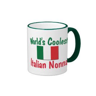 World's Coolest Italian Nonna Ringer Mug
