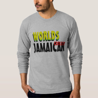 Worlds Coolest Jamaican American Apparel Long Slee T-Shirt