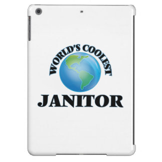 World's coolest Janitor iPad Air Covers
