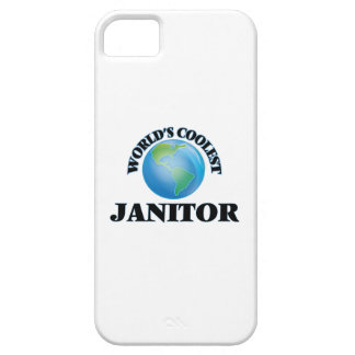 World's coolest Janitor iPhone 5 Cover