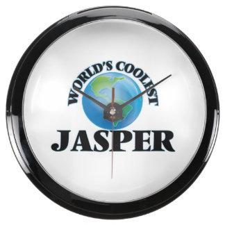 World's Coolest Jasper Aqua Clocks