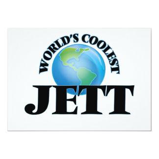 World's Coolest Jett 5x7 Paper Invitation Card