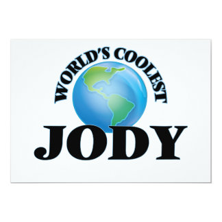 World's Coolest Jody Card