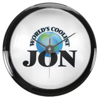 World's Coolest Jon Aqua Clock