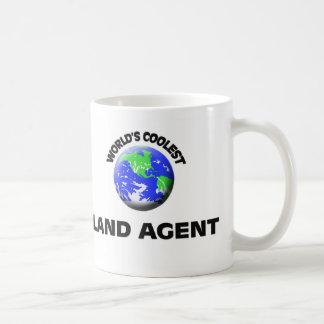 World's Coolest Land Agent Coffee Mug