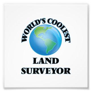 World's coolest Land Surveyor Photographic Print