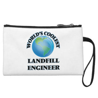World's coolest Landfill Engineer Wristlet Purse