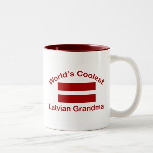 World's Coolest Latvian Grandma Coffee Mug
