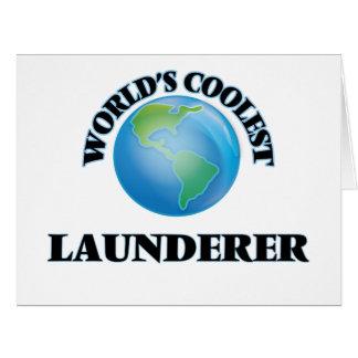 World's coolest Launderer Cards