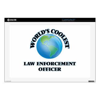 World's coolest Law Enforcement Officer Laptop Skin