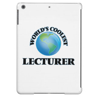 World's coolest Lecturer iPad Air Cases