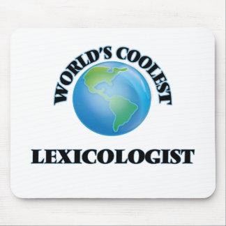 World's coolest Lexicologist Mousepad