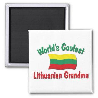 World's Coolest Lithuanian Grandma Magnets