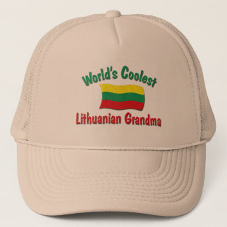 World's Coolest Lithuanian Grandma Trucker Hat
