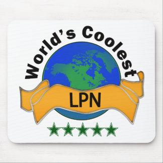 World's Coolest LPN Mouse Pad