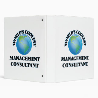 World's coolest Management Consultant 3 Ring Binder