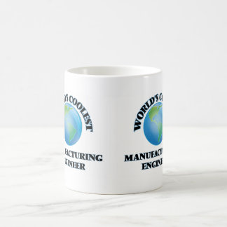 World's coolest Manufacturing Engineer Classic White Coffee Mug
