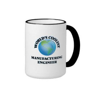 World's coolest Manufacturing Engineer Ringer Coffee Mug