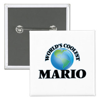 World's Coolest Mario Pinback Buttons